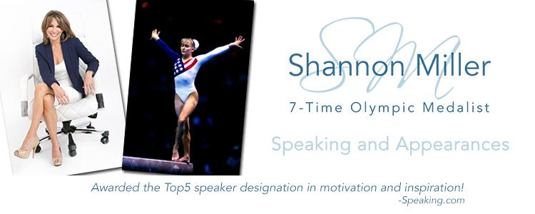 Shannon Miller Professional Speaker