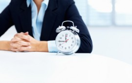 Time management for the busy woman.