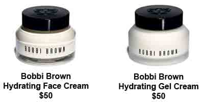 Hydrating Face Cream and Hydrating Gel Cream, from Bobbi Brown