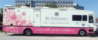 St. Vincent's Healthcare Mobile Mammography Unit