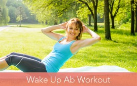wake up abs