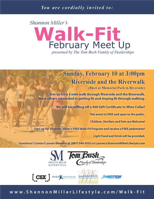 jacksonville walking exercise