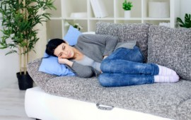 woman having stomachache-ALCAT