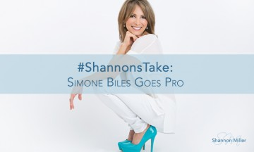 #ShannonsTake: Simone Biles Goes Pro
