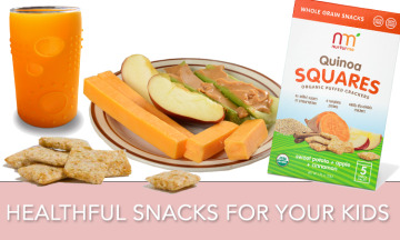 Healthy snacks for kids giveaway from Silikids, NuturMe, and Olympian Shannon Miller!