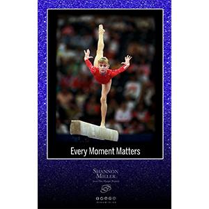 Blue Sparkle gymnastics poster