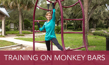Training on Monkey Bars