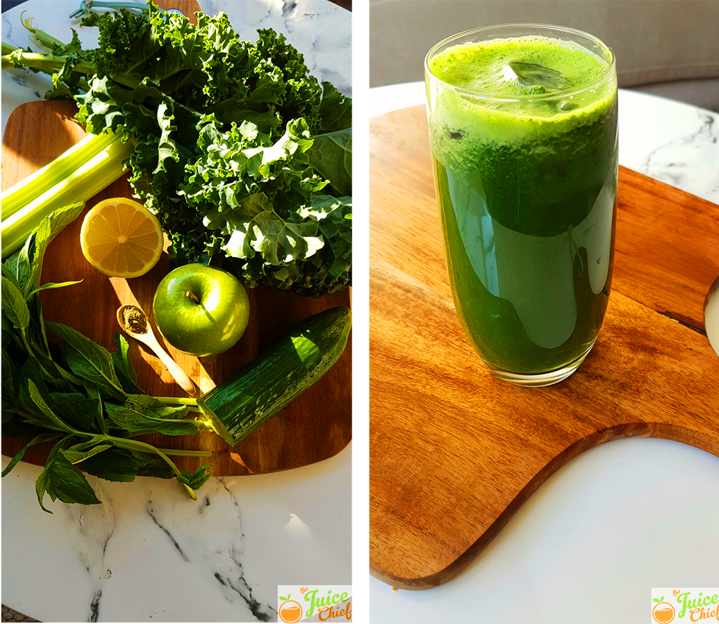 green juice mix