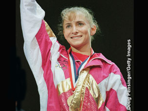 Shannon Miller at Olympics