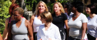 Shannon Miller Eight Week Walk-Fit Group, Week 2