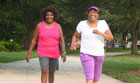 Walkers Enjoying Shannon Miller's Eight Week Walk-Fit Group - Week 3