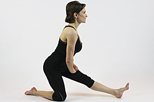 Kneeling Hamstring Stretch
