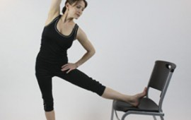 Ballerina Chair Stretch