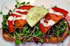 Microgreens Sandwich