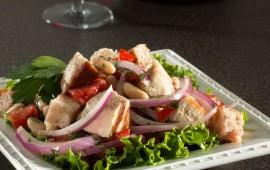 tuna-panzanella-salad