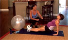 Reverse Plank - Fit Pregnancy DVD
