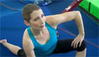 Shannon Miller - Stretching