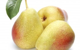 Pears are high fiber