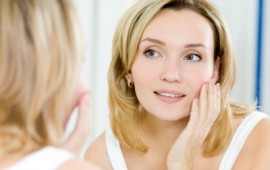 girl with clean skin and Anti-aging