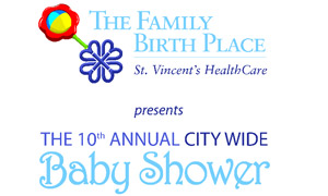 St. Vincent's Healthcare - The Family Birth Place - 10th Annual City Wide Baby Shower