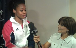 Shannon Miller interviews Gabby Douglas - 2012 Olympic Gymnastic Team hopeful