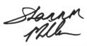 Shannon Miller Signature